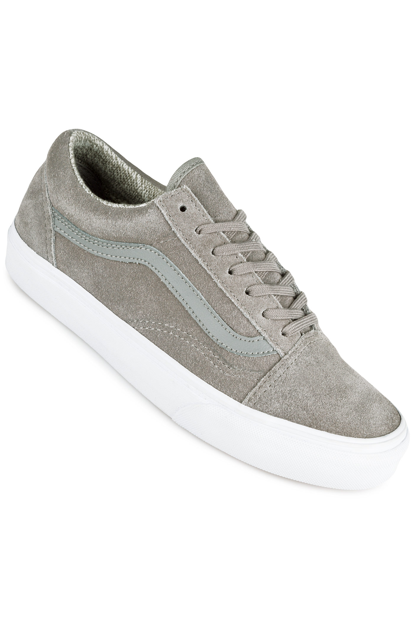 vans old skool shoes women woven grey true white buy at. Black Bedroom Furniture Sets. Home Design Ideas