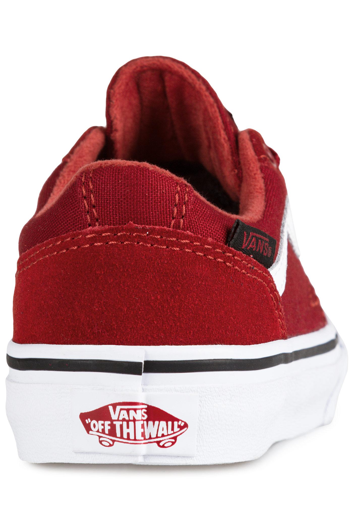 54d52f53204 Vans chapman stripe shoe kids varsity red buy at skatedeluxe jpg 1400x2100 Skatedeluxe  chapman stripe silhouette
