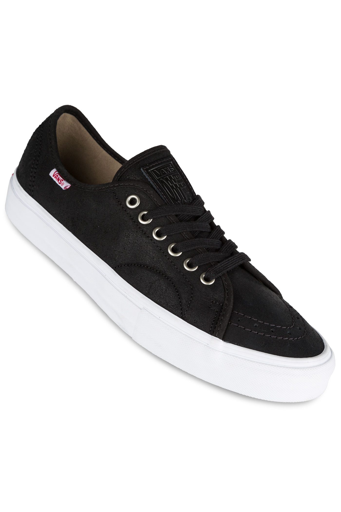 eb8df96192a7 Vans AV Classic Shoe (oiled black white) buy at skatedeluxe