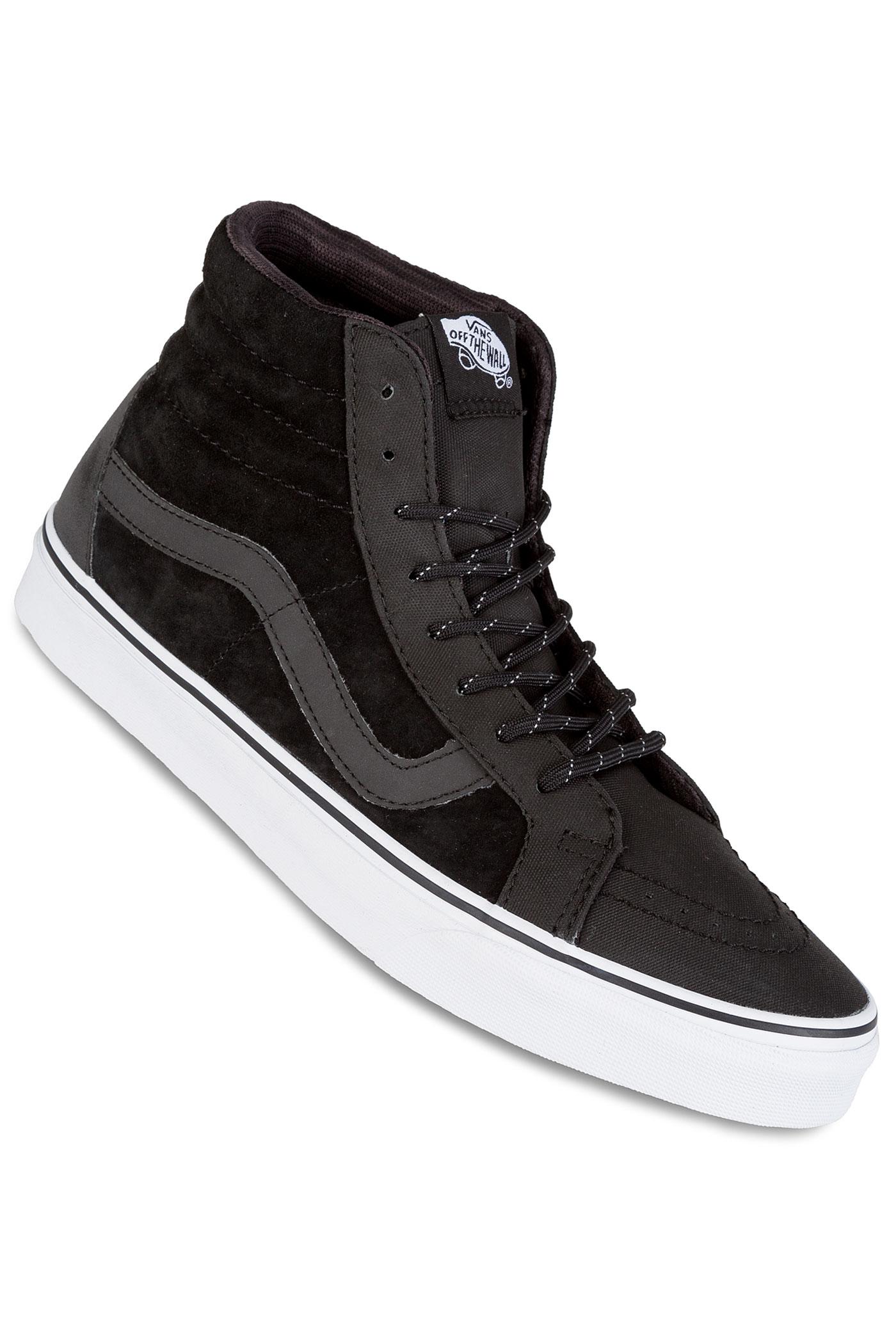 vans transit sk8 hi reissue dx shoes black reflective. Black Bedroom Furniture Sets. Home Design Ideas