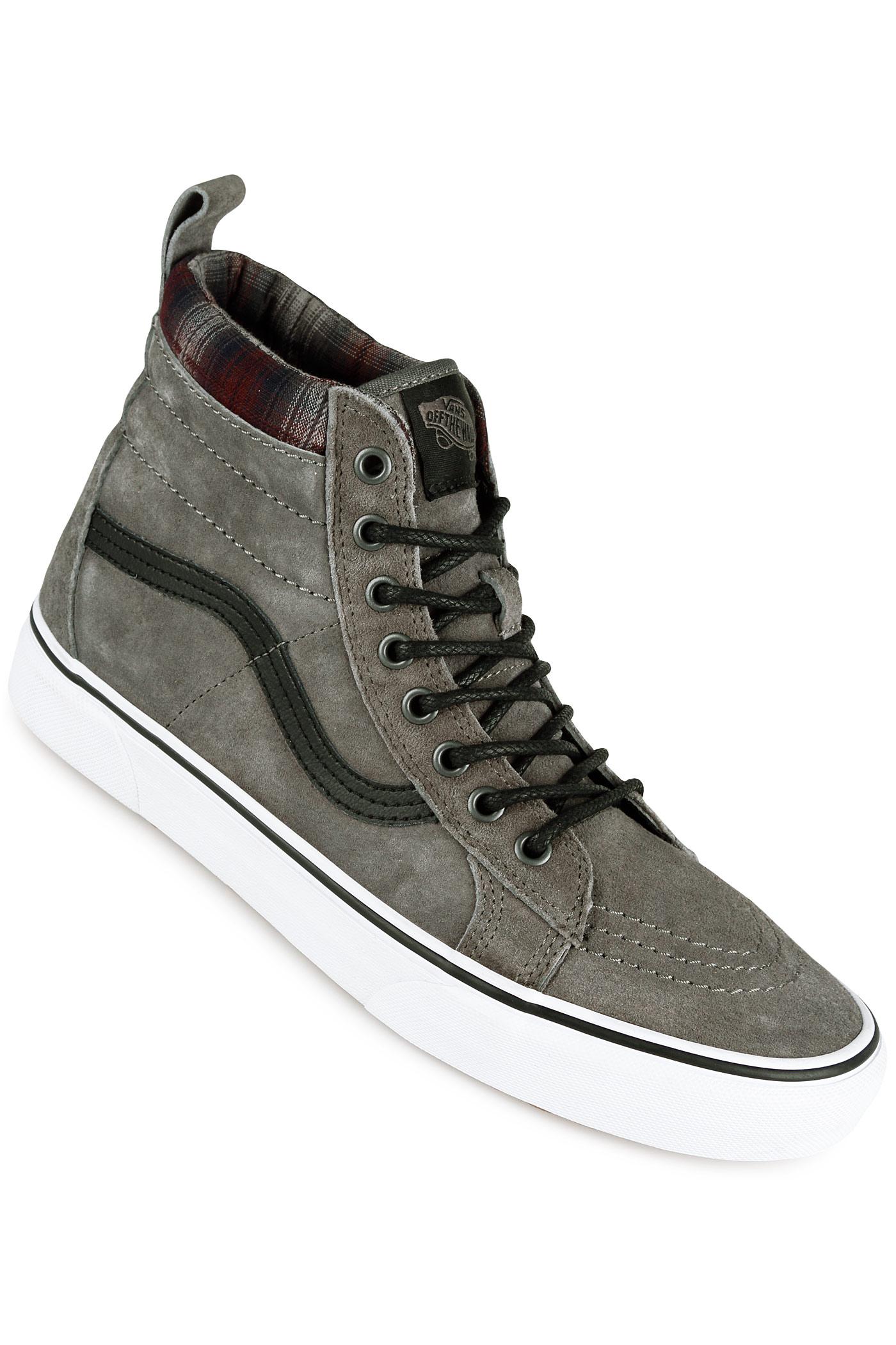 ad3a245c518 Vans Sk8-Hi MTE Shoe (pewter plaid) buy at skatedeluxe