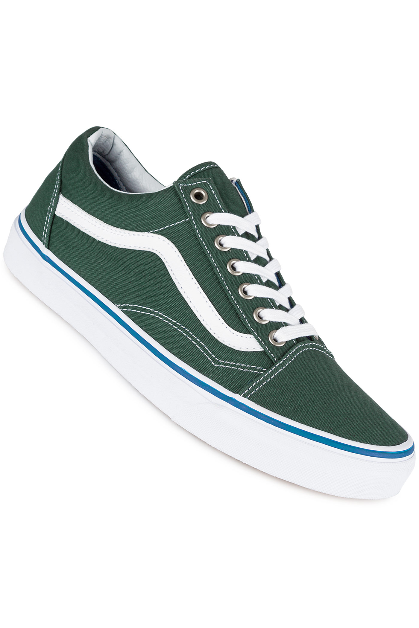 vans old skool shoe green gables true white buy at. Black Bedroom Furniture Sets. Home Design Ideas