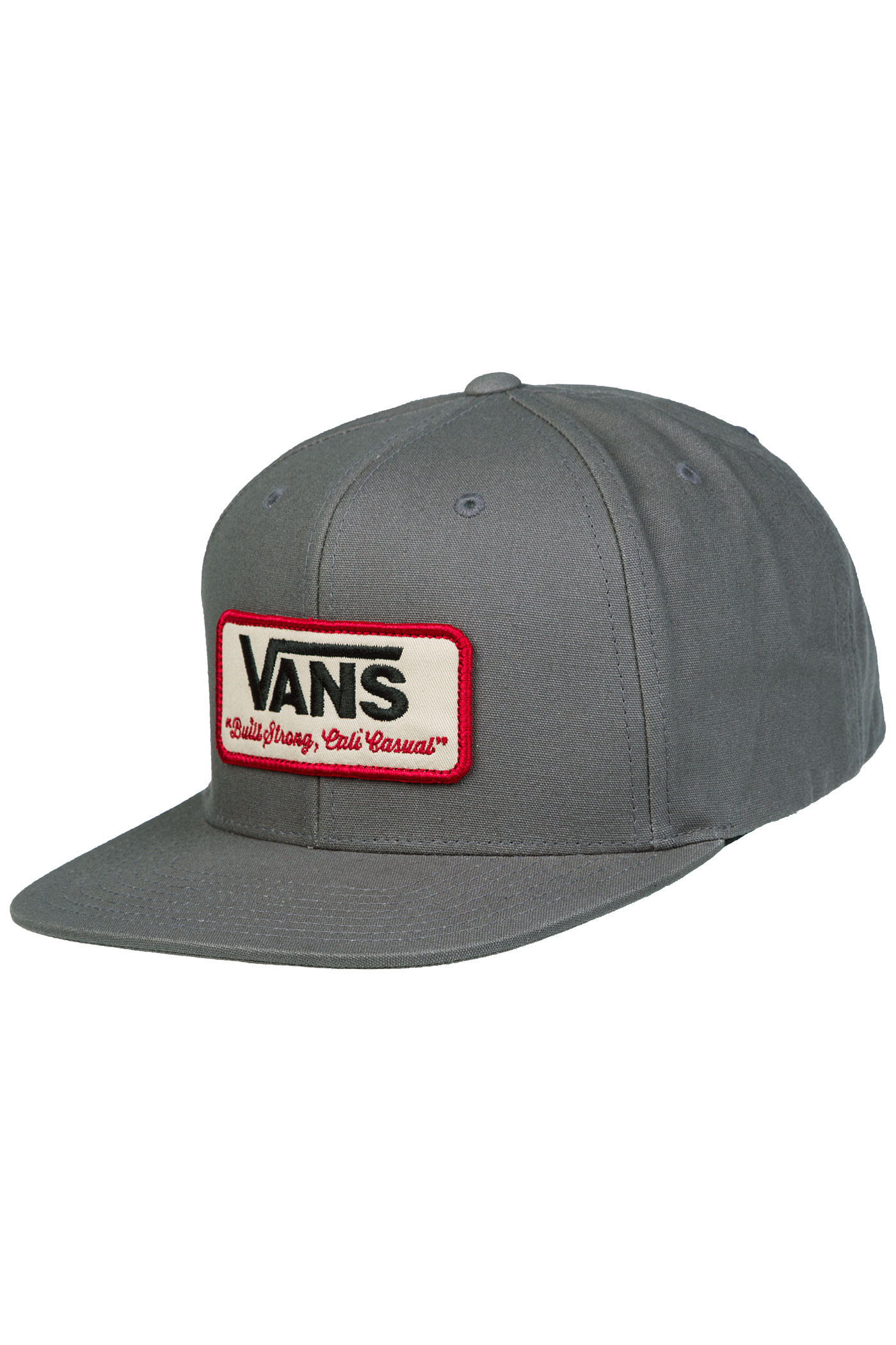 Vans Rowley Snapback Cap (grey) buy at skatedeluxe bb454fbb80c