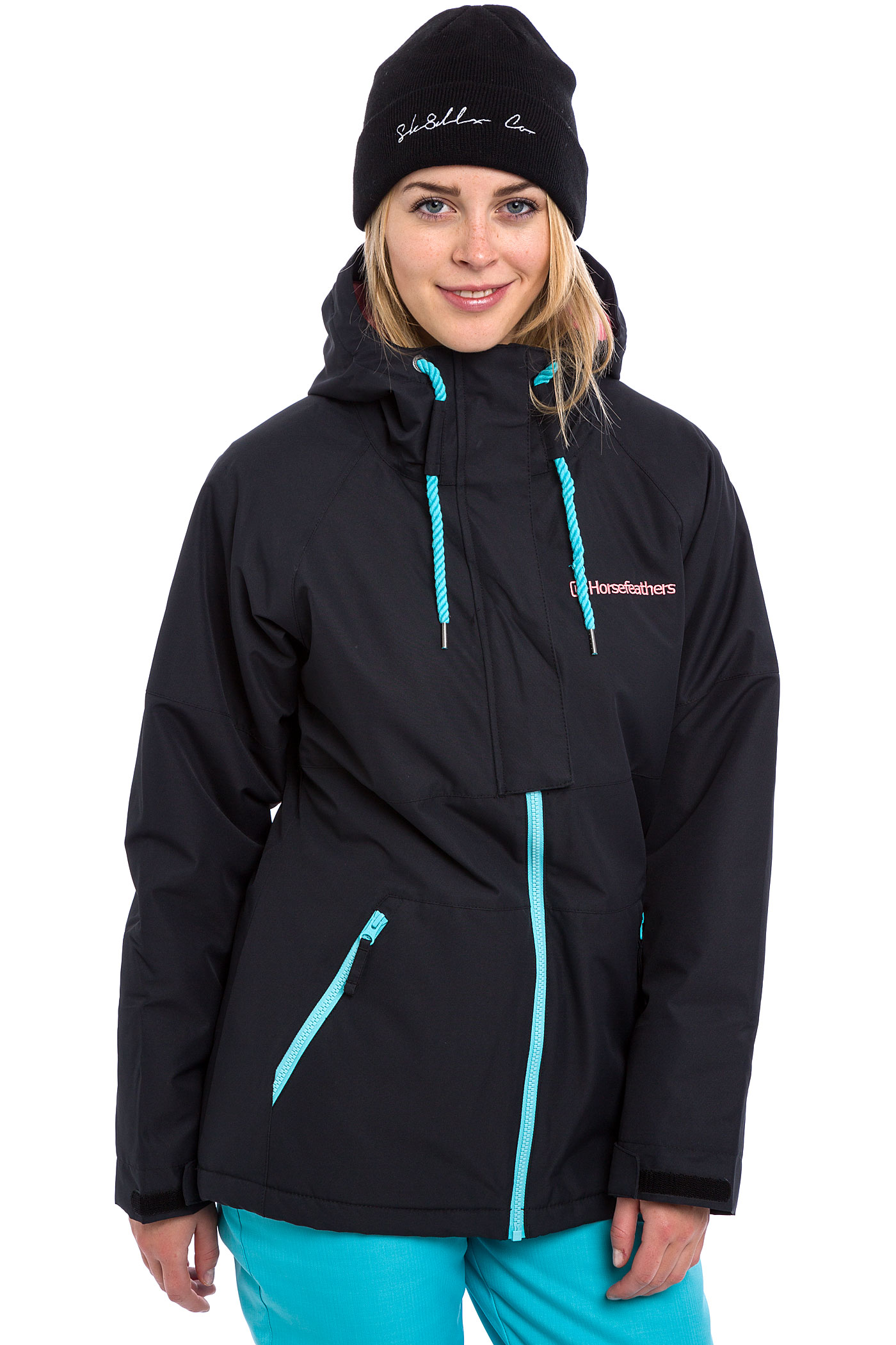 Womens black snowboard jacket
