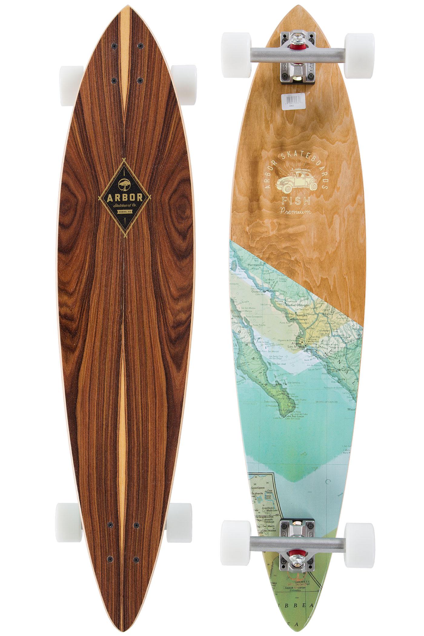 Arbor fish premium 39 99cm complete longboard 2016 koop for Arbor fish longboard