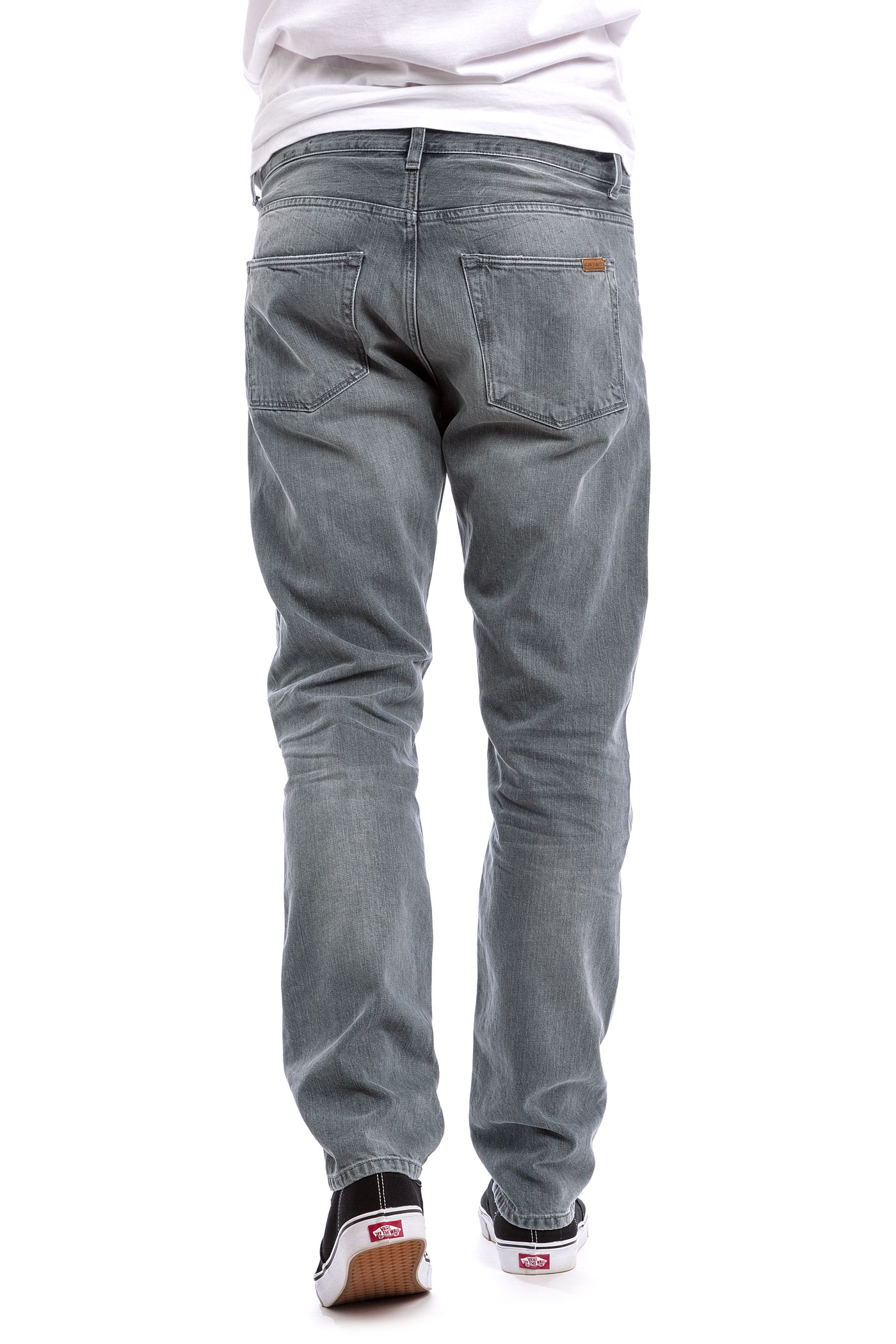 carhartt wip vicious pant grafton jeans grey gust washed. Black Bedroom Furniture Sets. Home Design Ideas