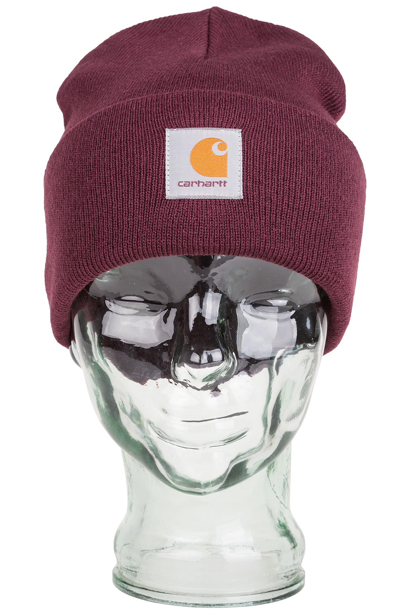 Carhartt WIP Acrylic Watch Bonnet (chianti)