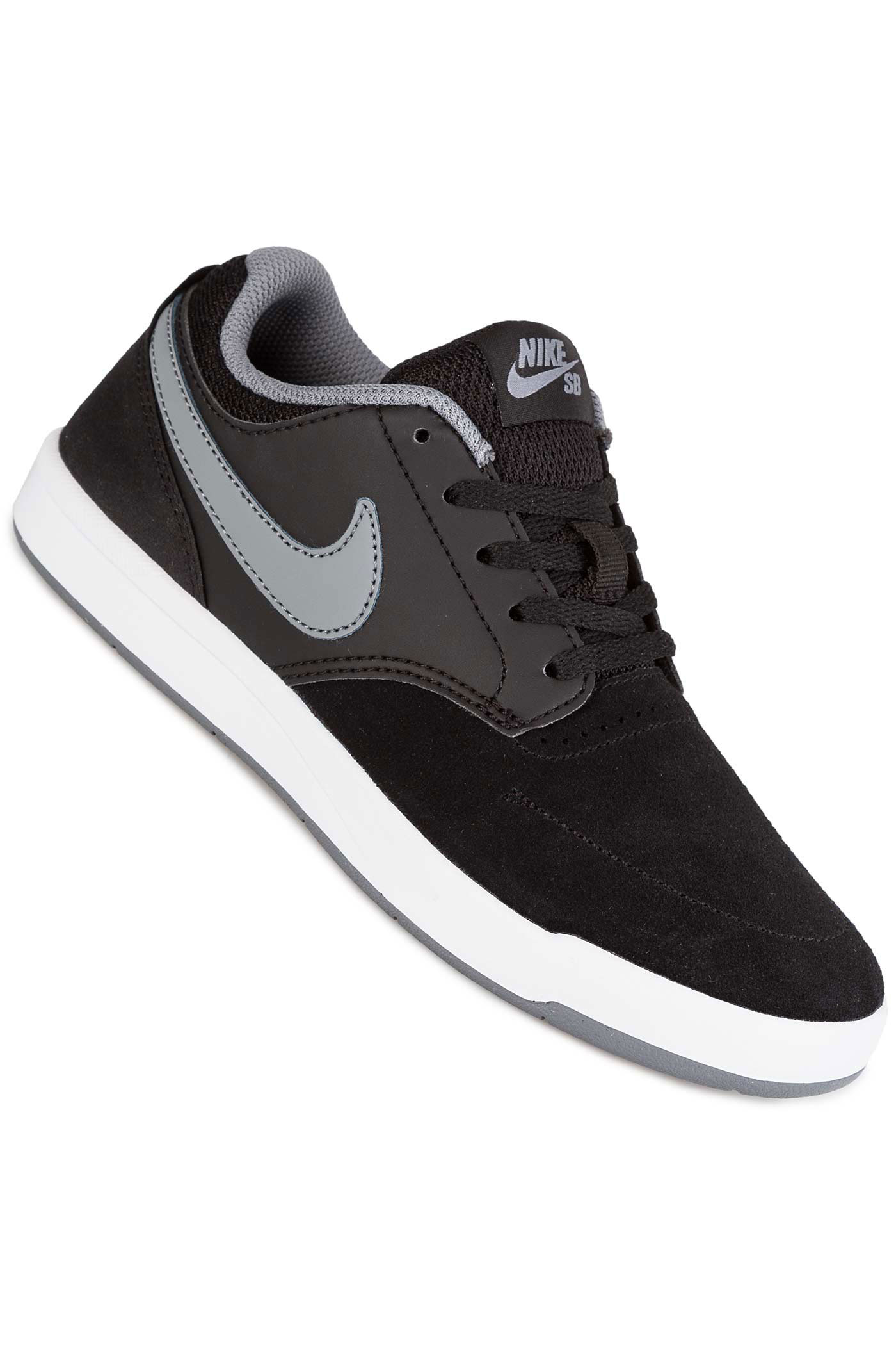 nike sb fokus chaussure kids black cool grey achetez sur skatedeluxe. Black Bedroom Furniture Sets. Home Design Ideas