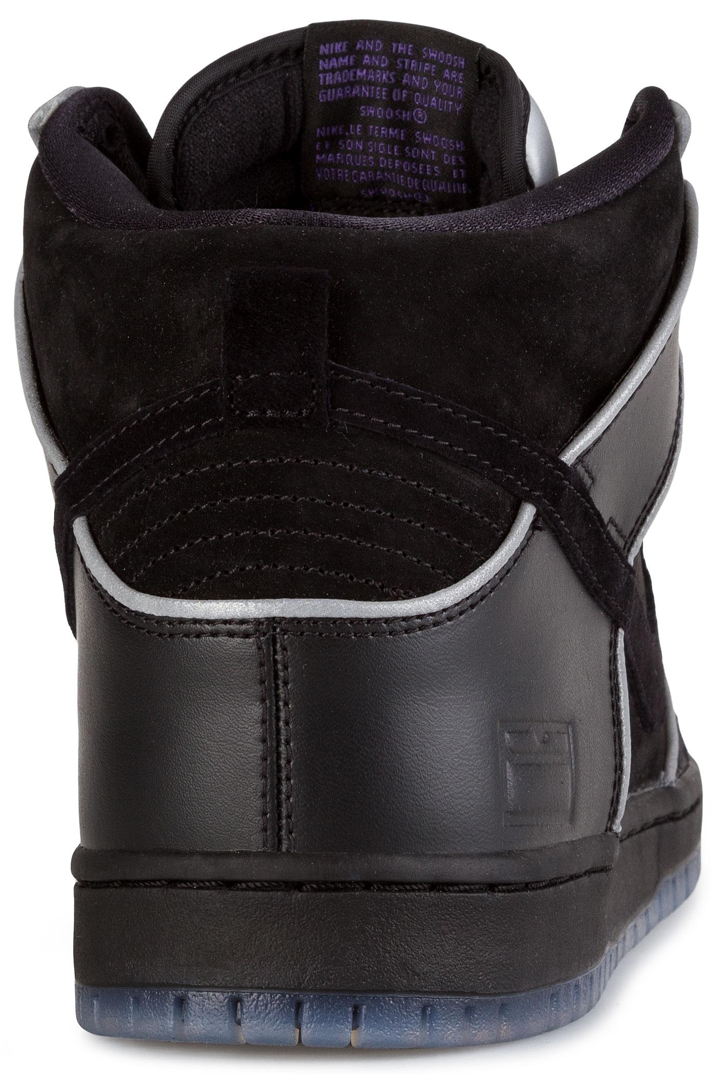 brand new 40556 9cdfd Nike SB Dunk High Elite Shoebox Shoe (black black purple haze)