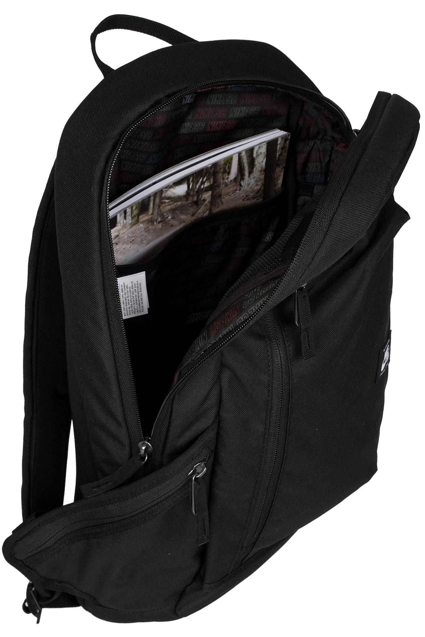 nike backpack black and white