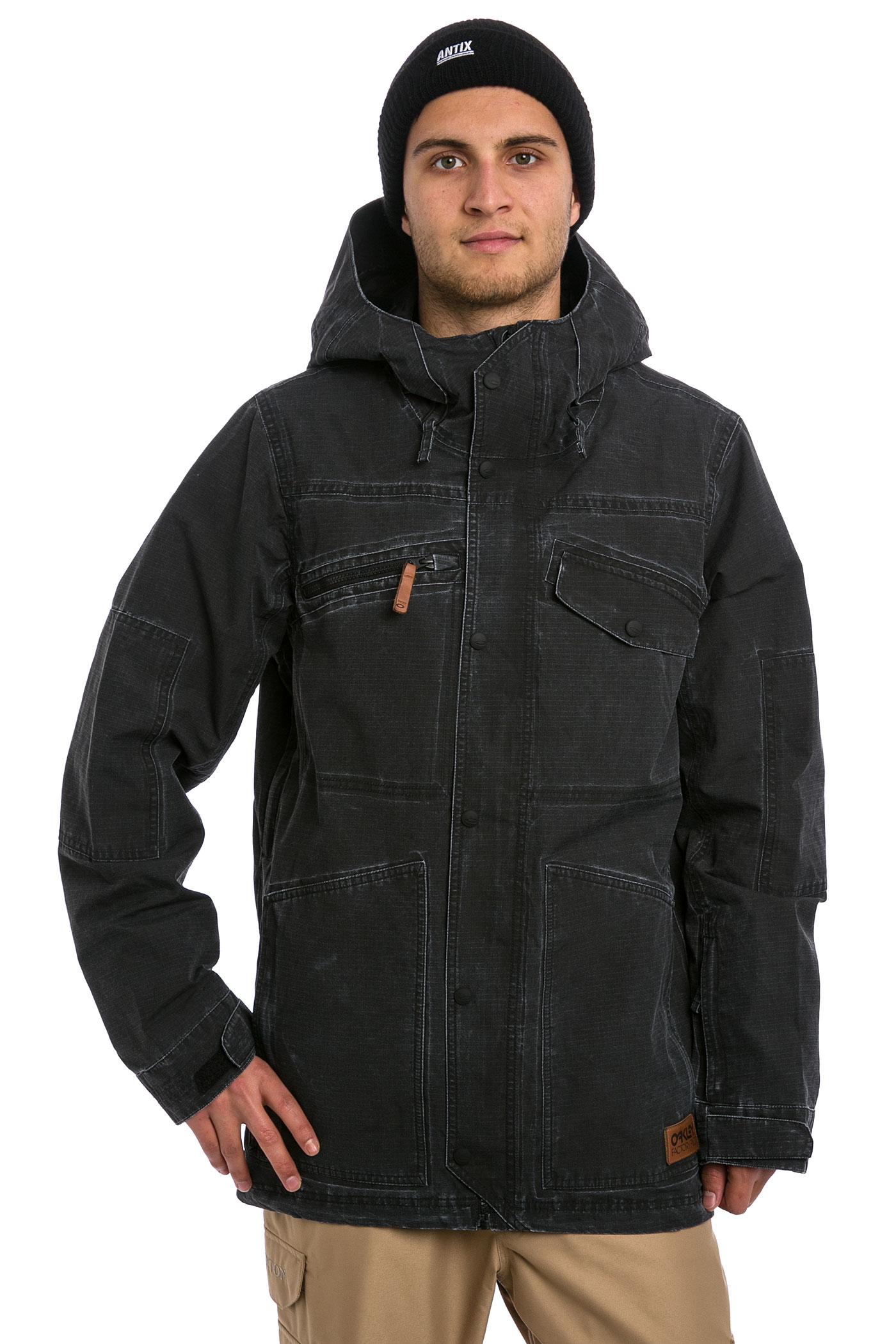 b6f1d66c19c Oakley Snowboarding Jacket Black « Heritage Malta