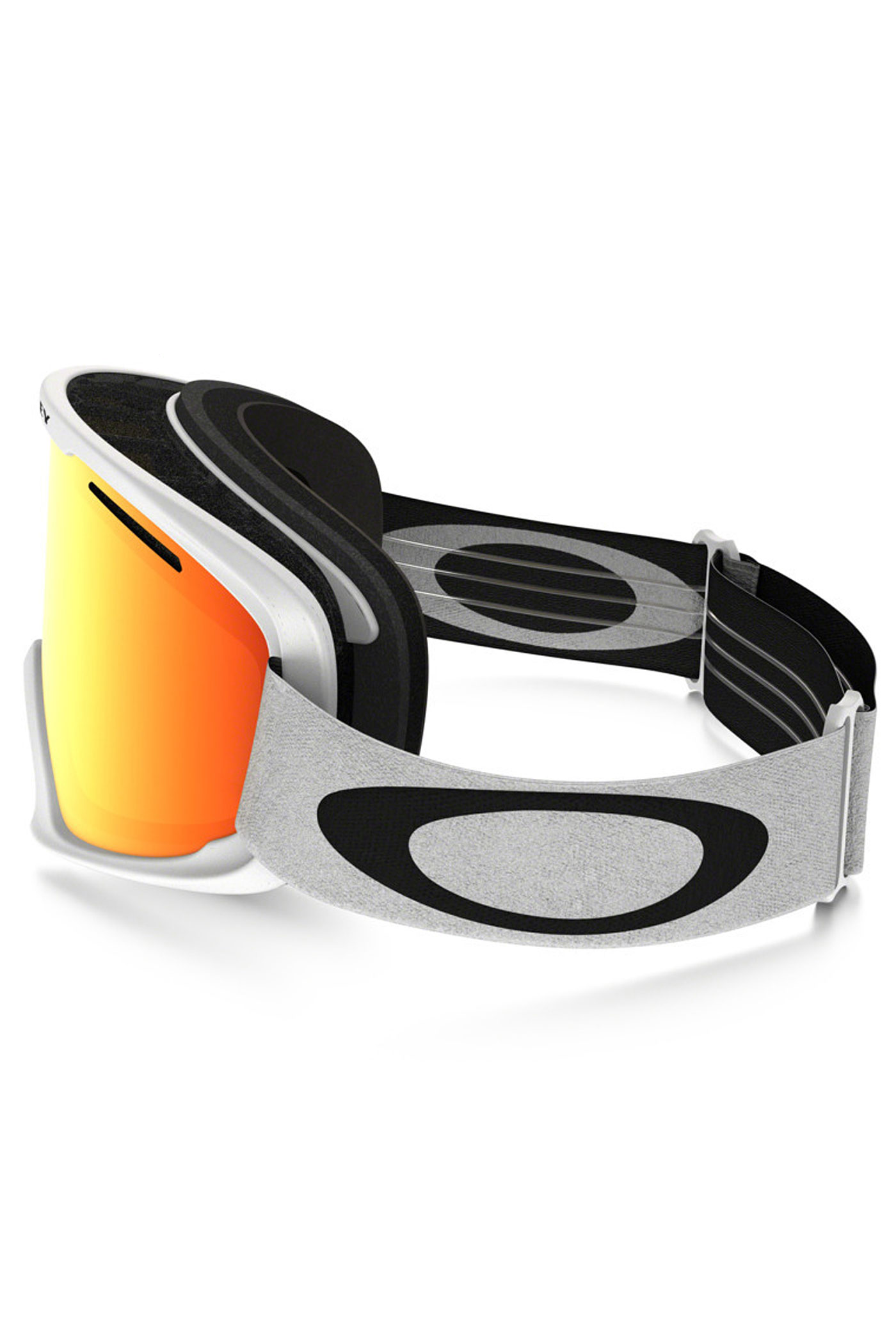 fefcd6627bd Oakley O2 XM Goggles (matte white fire iridium) buy at skatedeluxe