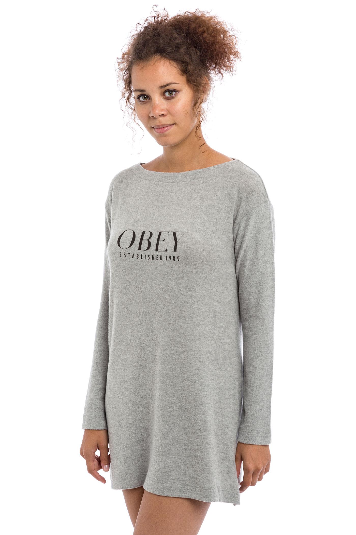 Obey Vanity Dress women (heather grey) buy at skatedeluxe