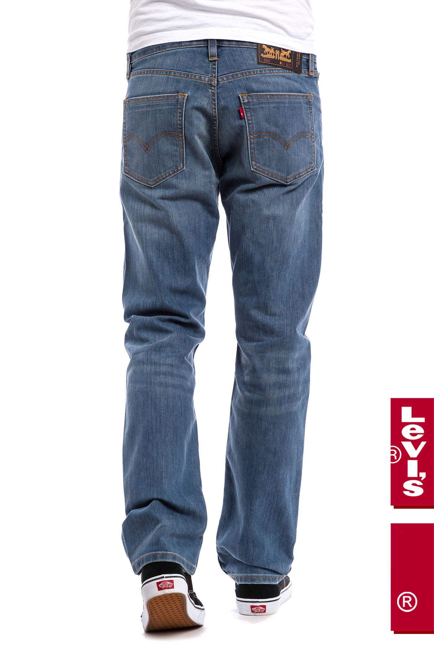 levi 39 s skate 504 regular straight jeans del sol buy at. Black Bedroom Furniture Sets. Home Design Ideas