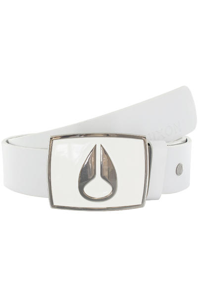 Nixon Enamel Icon Belt (white)