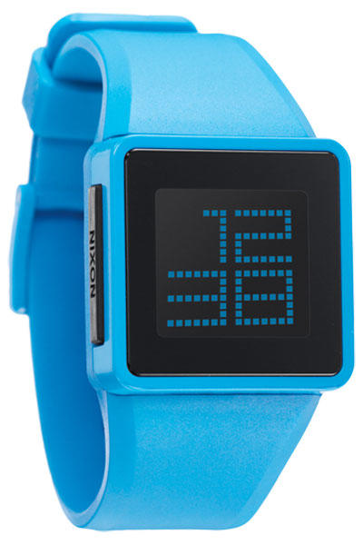 Nixon The Newton Digital Uhr (sky blue)