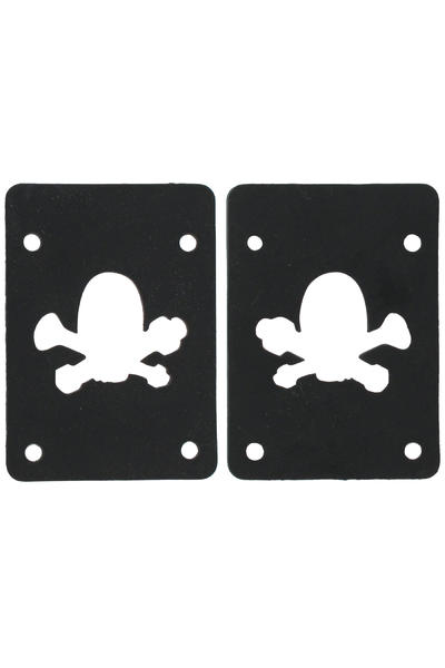 MOB Skateboards Skull Logo 2mm soft Pad (black) 2er Pack
