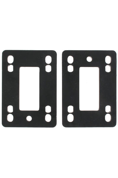 MOB Skateboards 6mm Riser Pad (black) 2er Pack