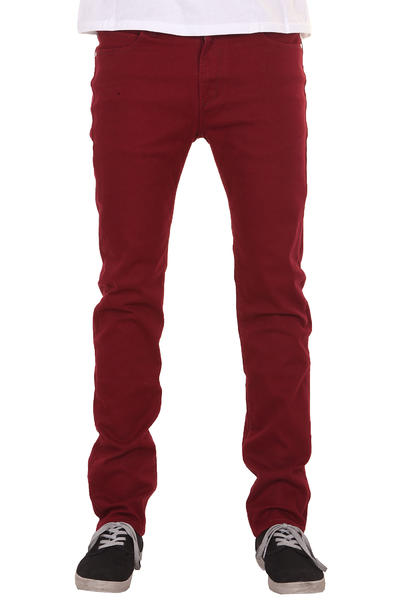 REELL Skin Stretch Jeans (wine red)