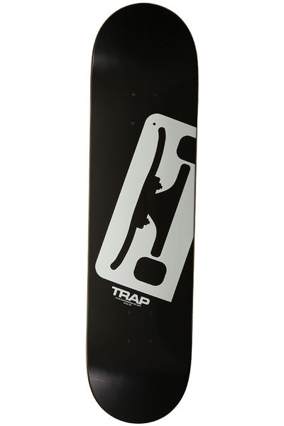 "Trap Skateboards Truck Logo E 8"" Deck (black white)"