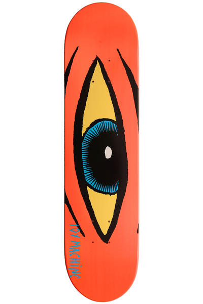"Toy Machine Sect Eye 7.625"" Deck (neon orange)"