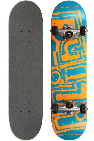 "Blind Ransom SS Mini 7"" Complete-Board kids (blue orange)"
