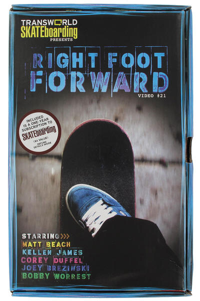 Transworld Right Foot Forward DVD