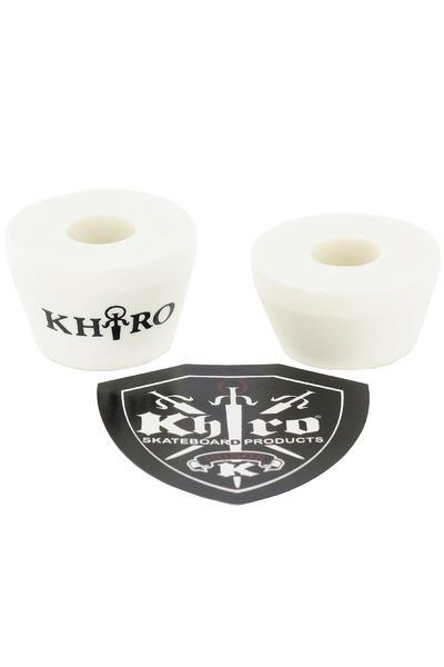Khiro 73A Tall Cone Lenkgummi (white)