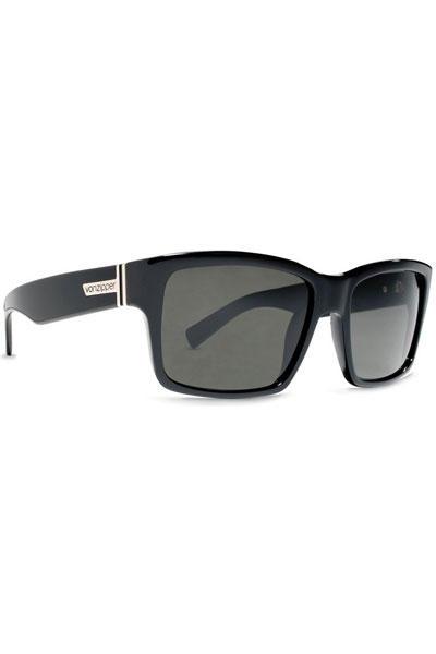 VonZipper Elmore Sonnenbrille (black gloss vintage grey)