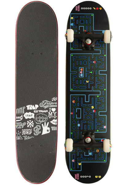 "Trap Skateboards Team Design Retro 7.625"" Complete-Board"