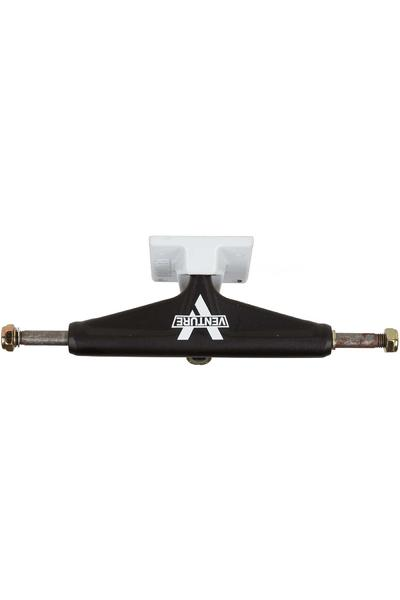 "Venture Trucks Color Salt & Pepper Low 5.25"" Truck (black white)"
