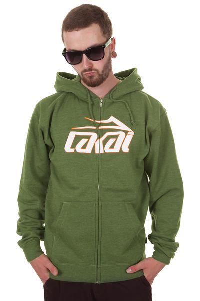 Lakai Classic Zip-Hoodie (heather kelly)