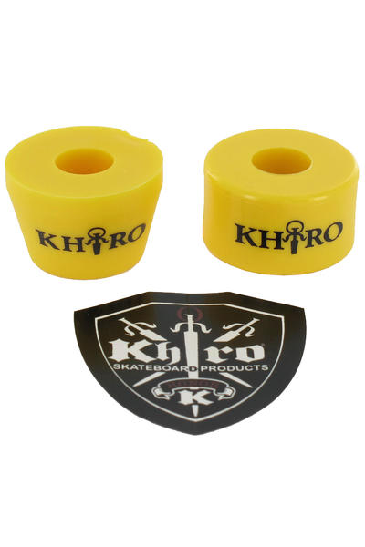Khiro 92A Tall Cone Combo Lenkgummi (yellow)