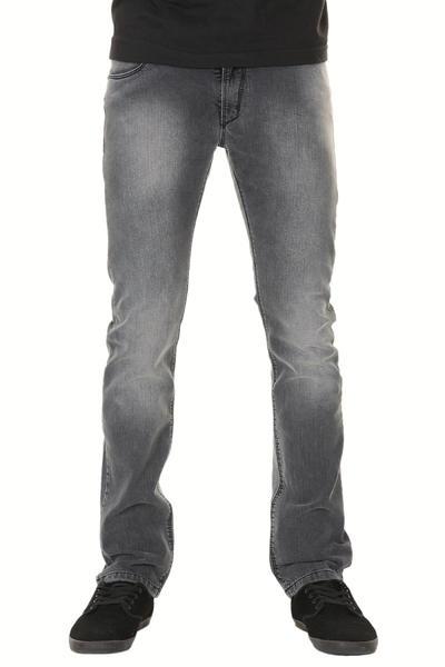REELL Skin Stretch Jeans (heavy stone black)