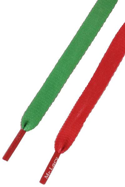 Mr. Lacy Clubbies Schnürsenkel (kelly green red)