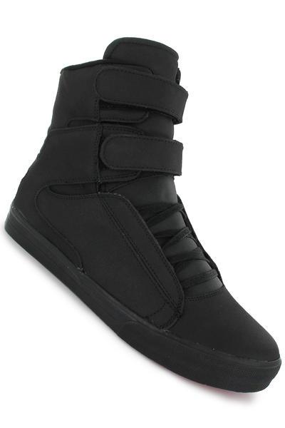 Supra Society Shoe (black satin tuf)
