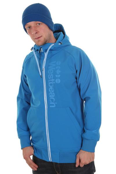Westbeach Chief Softshell Snow Zip-Hoodie (ultramagnetic blue)