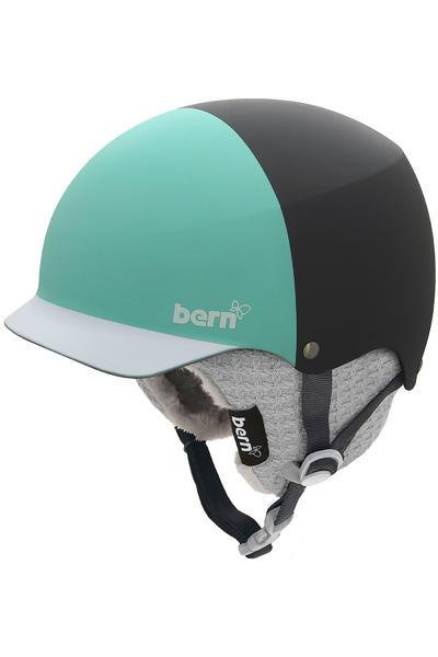 Bern Baker Snow-Helm women (matte grey mint green)