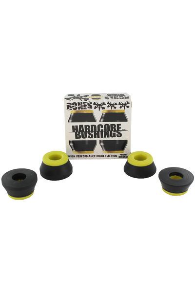 Bones 91A Hardcore-Medium Lenkgummi (black yellow) 2er Pack