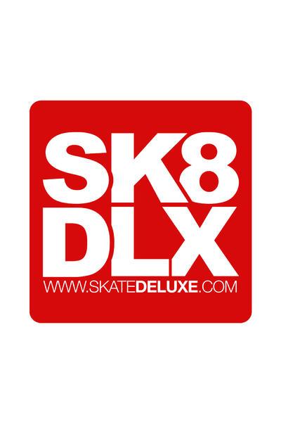 SK8DLX 40 cm Sticker (red)