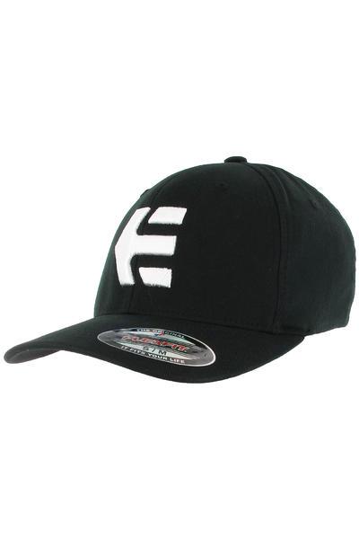 Etnies Icon 5 FlexFit Cap (black white)