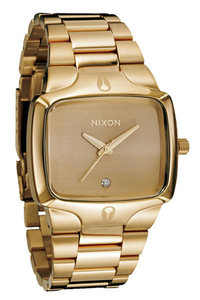 Nixon The Player Uhr (gold gold)