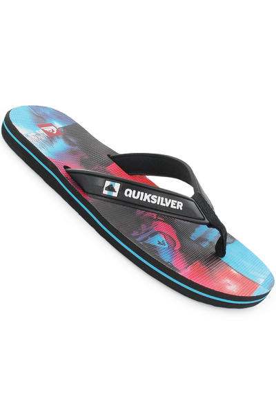 Quiksilver Eclipsed Print Sandale (blue red  black)