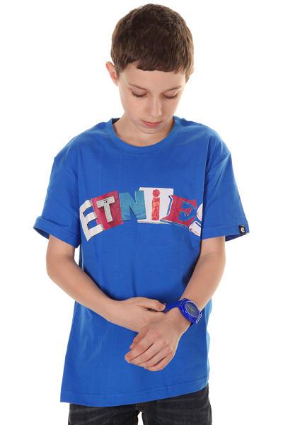 Etnies Signage Arch T-Shirt kids (royal)