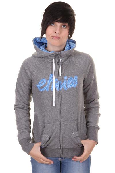 Etnies Script Fill Zip-Hoodie women (dark grey blue)