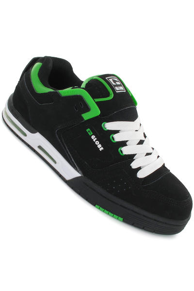 Globe Cleaver Shoe (black green white)