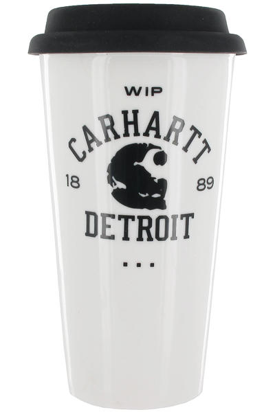 Carhartt WIP Coffee to go Kaffeebecher Acc. (broken white black)
