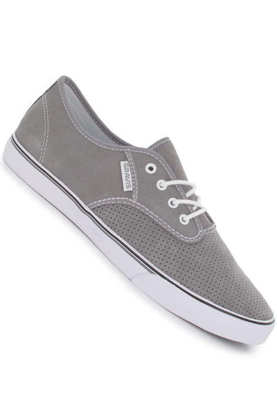 Gravis Slymz Suede Schuh (frost grey)