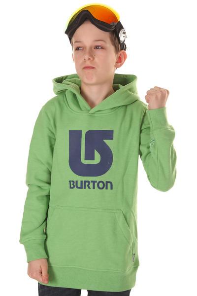 Burton Boys' Logo Vertical Hoodie kids (heather sweet leaf)