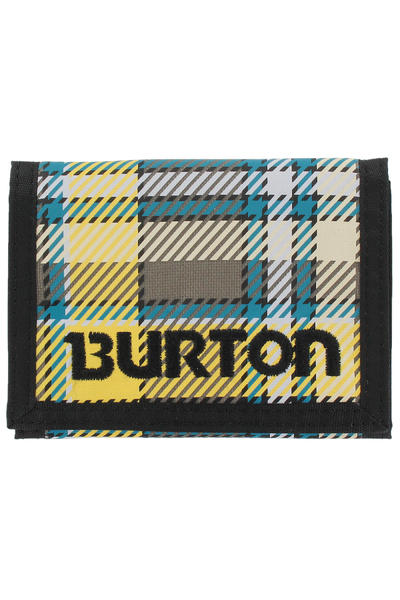 Burton Cory Geldbeutel (trench green province plaid)